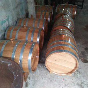 Thùng gỗ sồi 100 lit